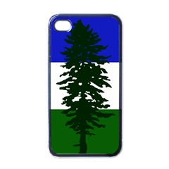 Flag Of Cascadia Apple Iphone 4 Case (black)