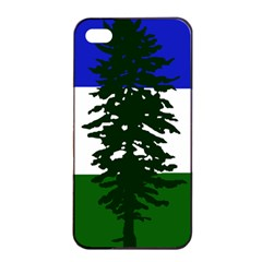 Flag Of Cascadia Apple Iphone 4/4s Seamless Case (black)