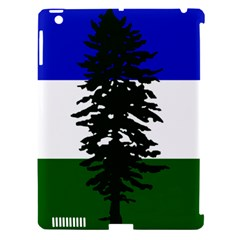Flag Of Cascadia Apple Ipad 3/4 Hardshell Case (compatible With Smart Cover)