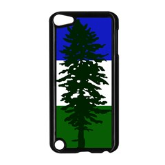 Flag Of Cascadia Apple Ipod Touch 5 Case (black)