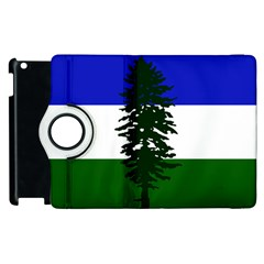 Flag Of Cascadia Apple Ipad 3/4 Flip 360 Case
