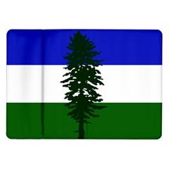 Flag Of Cascadia Samsung Galaxy Tab 10 1  P7500 Flip Case