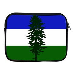 Flag Of Cascadia Apple Ipad 2/3/4 Zipper Cases
