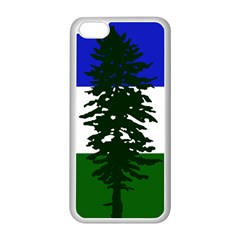 Flag Of Cascadia Apple Iphone 5c Seamless Case (white)