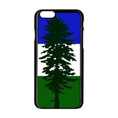 Flag Of Cascadia Apple Iphone 6/6s Black Enamel Case