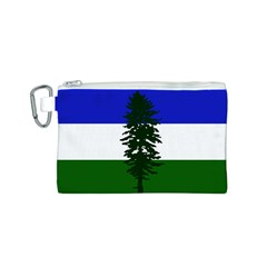 Flag Of Cascadia Canvas Cosmetic Bag (s)