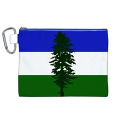 Flag Of Cascadia Canvas Cosmetic Bag (xl)