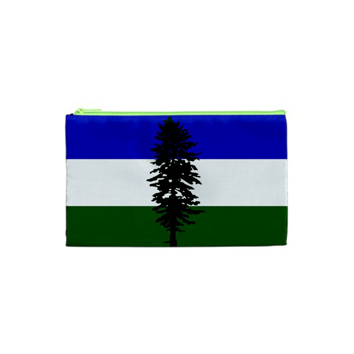 Flag of Cascadia Cosmetic Bag (XS)