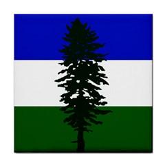 Flag 0f Cascadia Tile Coasters