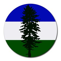 Flag 0f Cascadia Round Mousepads