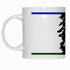 Flag 0f Cascadia White Mugs