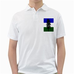 Flag 0f Cascadia Golf Shirts