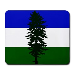 Flag 0f Cascadia Large Mousepads
