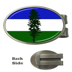 Flag 0f Cascadia Money Clips (oval)