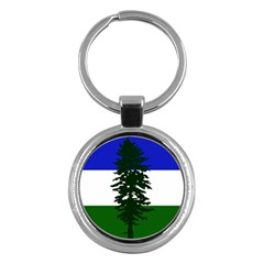 Flag 0f Cascadia Key Chains (round)