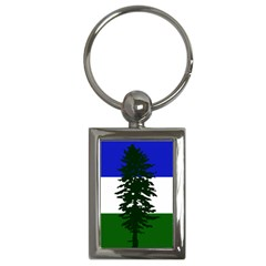 Flag 0f Cascadia Key Chains (rectangle)