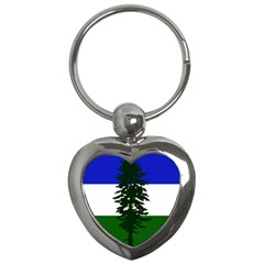 Flag 0f Cascadia Key Chains (heart)