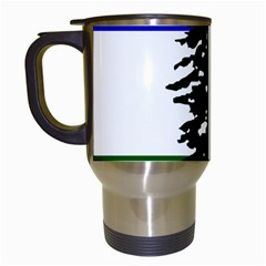 Flag 0f Cascadia Travel Mugs (white)