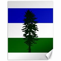 Flag 0f Cascadia Canvas 12  X 16