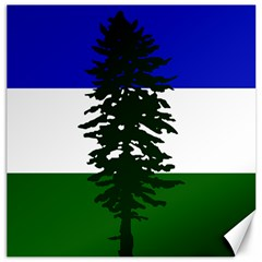 Flag 0f Cascadia Canvas 16  X 16