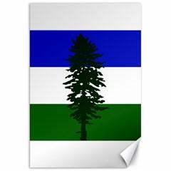 Flag 0f Cascadia Canvas 20  X 30
