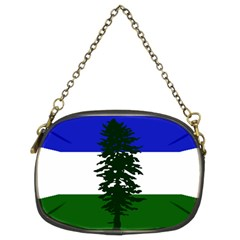 Flag 0f Cascadia Chain Purses (two Sides)