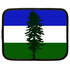 Flag 0f Cascadia Netbook Case (xl)
