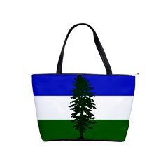 Flag 0f Cascadia Shoulder Handbags