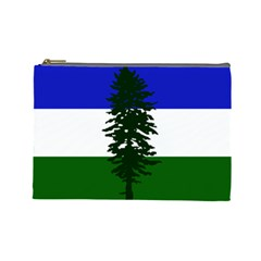 Flag 0f Cascadia Cosmetic Bag (large)