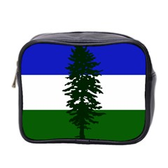 Flag 0f Cascadia Mini Toiletries Bag 2 Side