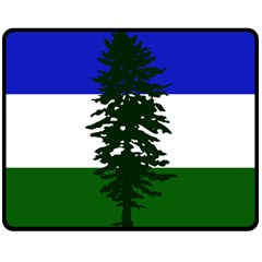 Flag 0f Cascadia Fleece Blanket (medium)