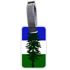 Flag 0f Cascadia Luggage Tags (one Side)