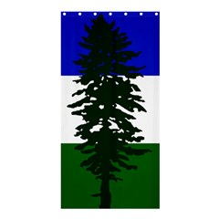 Flag 0f Cascadia Shower Curtain 36  X 72  (stall)