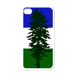 Flag 0f Cascadia Apple Iphone 4 Case (white)