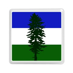 Flag 0f Cascadia Memory Card Reader (square)