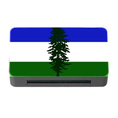 Flag 0f Cascadia Memory Card Reader With Cf
