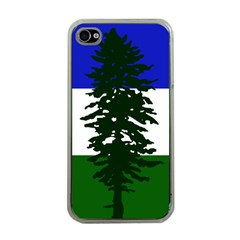 Flag 0f Cascadia Apple Iphone 4 Case (clear)