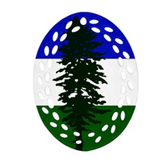 Flag 0f Cascadia Ornament (oval Filigree)