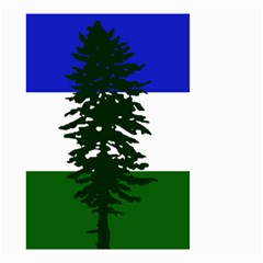 Flag 0f Cascadia Small Garden Flag (two Sides)