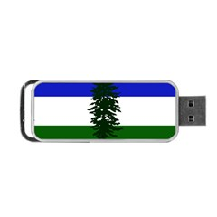 Flag 0f Cascadia Portable Usb Flash (one Side)