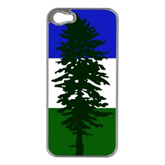 Flag 0f Cascadia Apple Iphone 5 Case (silver)