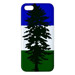 Flag 0f Cascadia Apple Iphone 5 Premium Hardshell Case