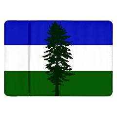 Flag 0f Cascadia Samsung Galaxy Tab 8 9  P7300 Flip Case