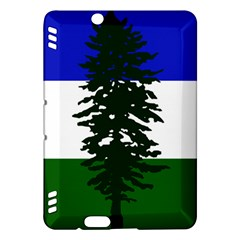 Flag 0f Cascadia Kindle Fire Hdx Hardshell Case