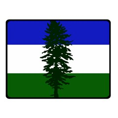 Flag 0f Cascadia Double Sided Fleece Blanket (small)
