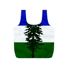 Flag 0f Cascadia Full Print Recycle Bags (s)