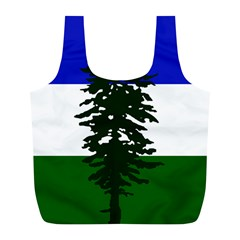 Flag 0f Cascadia Full Print Recycle Bags (l)