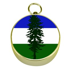 Flag 0f Cascadia Gold Compasses