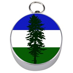 Flag 0f Cascadia Silver Compasses