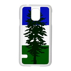 Flag 0f Cascadia Samsung Galaxy S5 Case (white)